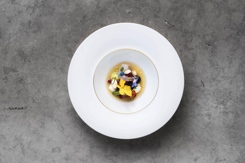 Platos de Ricard Camarena Restaurant