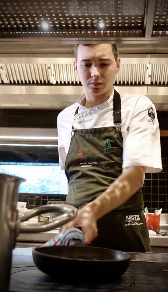 Lluis Gómez jefe de cocina de RCR