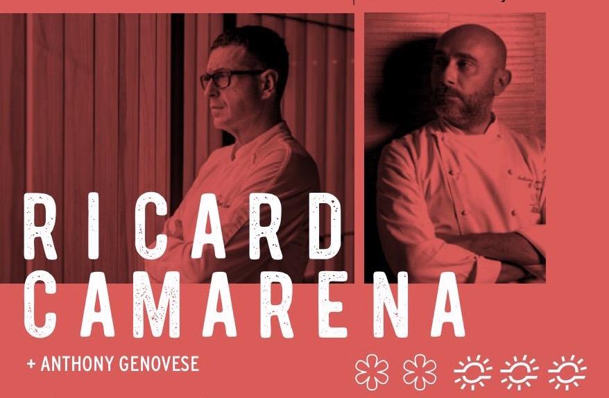 Ricard Camarena y Anthony Genovese en el Valencia Culinary Festival