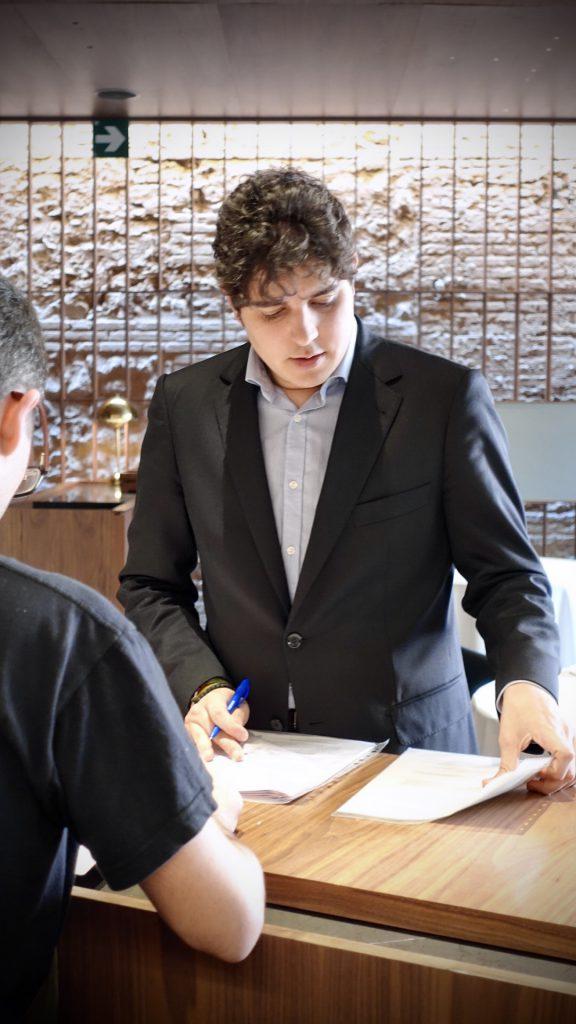 Sergio Rozas manager de RCR