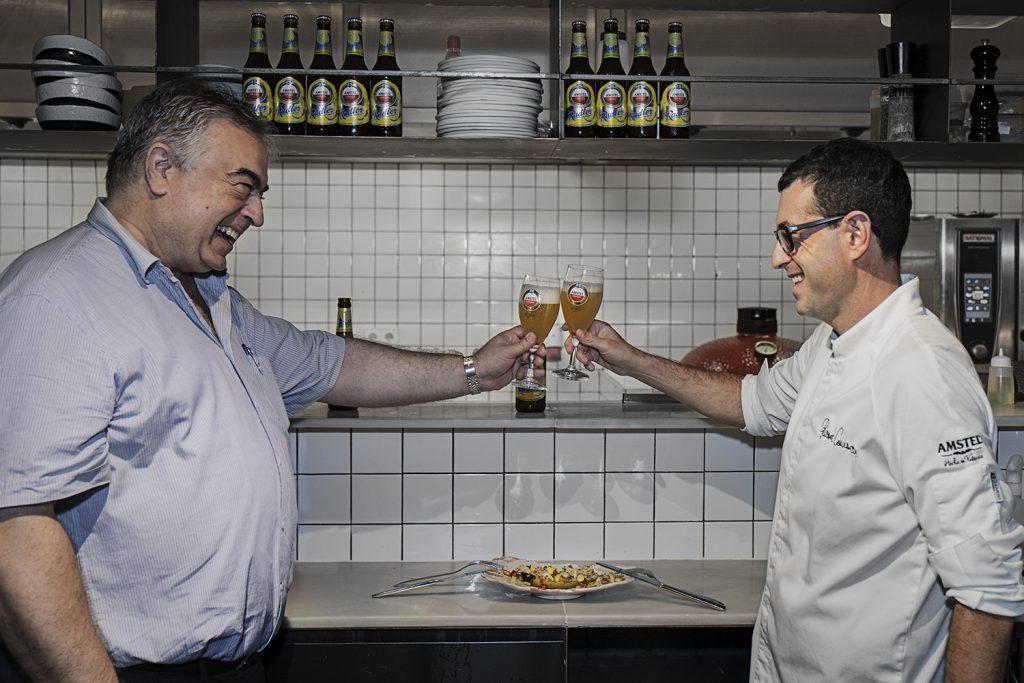 Ricard Camarena y Amstel preparan el maridaje del verano